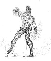 Atom Smasher Damage Zombie by SpiderGuile