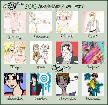2010 Summary of Art by the-dancing-onigiri