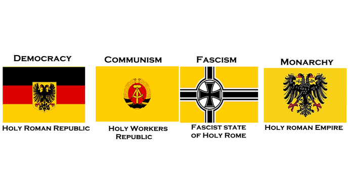 Flag of Holy Roman Empire by Disney08