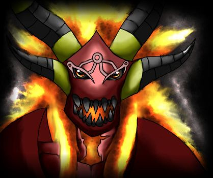Taigan, Lord of Hellfire by AxisofDestruction