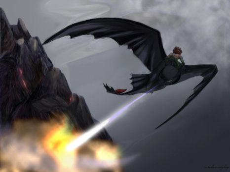 Blasting the Mountainside (HTTYD2 webnovel ch1) by inhonoredglory