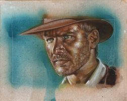Indiana Jones by JeffLafferty