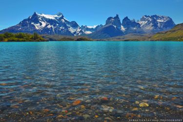 Chile - Pehoe Lake by lux69aeterna