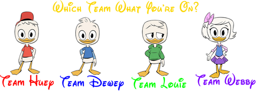 Which Team What You're On? by hannah731