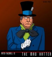 MITCH MCCONNELL is the MAD HATTER by Ha Hefner by HalHefnerART