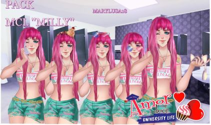 Pack mcl Amor doce -Milly by Marylusa18