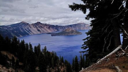 Crater Lake by BlizzardBlitzer