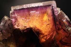 Fluorite 'Sunset' (close-up) by bmah