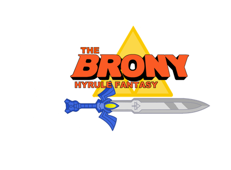 The Brony Hyrule Fantasy Official logo (Ver 1) by DBurch01