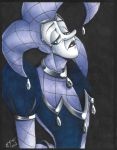 Quip's Forlorn Stare [FULL COLOR VERSION] by ElectricPoodle