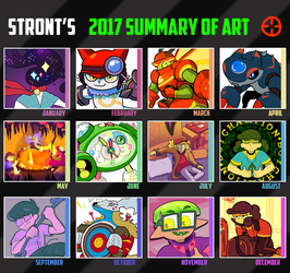 2017 Summary of Art by Strontium-Chloride