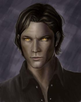 yellow eyes the younger... by Pandora-Gold