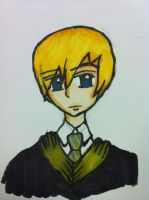 Draco Malfoy by ImOnlyLittle