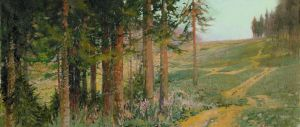 Firs and Fireweed by DChernov