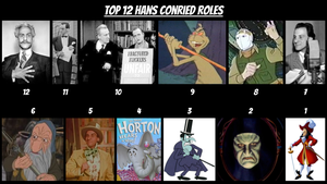 Top 12 Hans Conried Roles by JJHatter