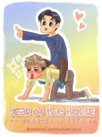 # YEAR of the HORSE ++ Jean x Marco ++ by TiwiCat