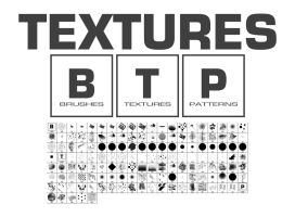 Textures Brushes by Vincent-Montreuil