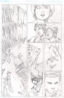 Stranger Things Page 1 Pencils by TonyOjeda