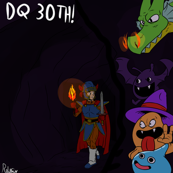 DQ30th by RoboGuy9000
