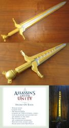 Sword Of Eden - Cosplay Prop by suzidragonlady
