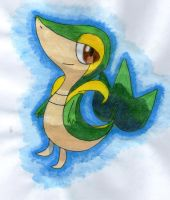 Snivy by twilightlinkjh