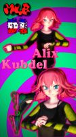 MMD Miraculous - TDA Alix Kubdel DL by RinKiss255