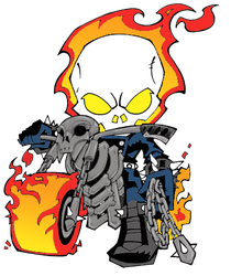 lil ghost rider by JaznWho