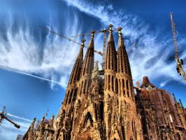 Sagrada Familia by Asimakis