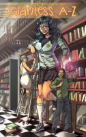 Giantess A to Z Cover by xavor85