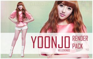 Yoonjo Hello Venus png pack by classicluv