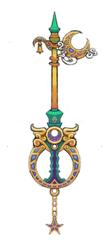 Unnamed keyblade by FrozenTempest