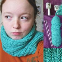 Aqua Scarf by smilechild
