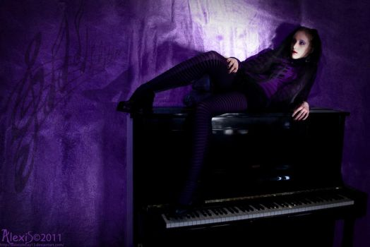 Queen of violet music - 2 by AlexisPhotoart
