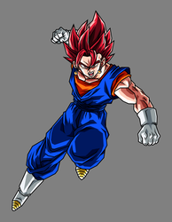 Vegetto Super Saiyan God by hsvhrt