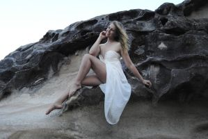 Riley Jade - white dress above 2 by wildplaces