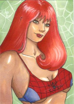 Mary Jane ACEO by LouPons