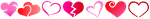 Heart Divider (Free To Use) by xXxBulletproofxXx