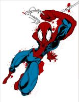 Spider-man 2 - Colored Version H-Res by Roach97