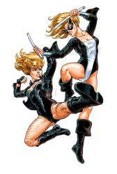 Black-Canary Mocking-Bird Laurent-Libessart by pin-up-corner-shop