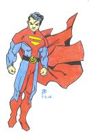Superboy in the Legion by S-Shield
