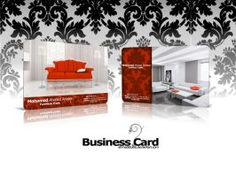 Furniture Trade-Business Card by ahmedstudio