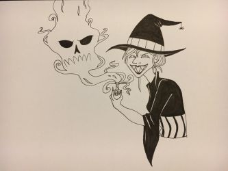 Inktober day 3- Poison by teacozy1