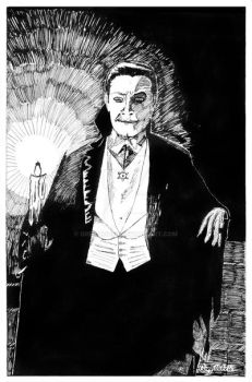 From High School--Bela Lugosi as Dracula by GregoriusU