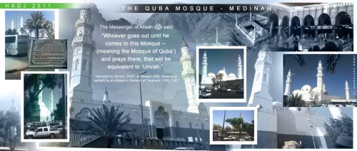 DESIGN 8 THE QUBA MOSQUE - MEDINAH by thekdefender