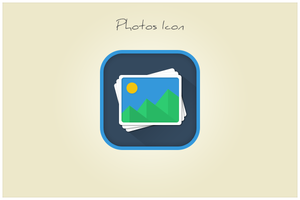 37 Photos Icon (freebie by pixelcave) by pixelcave