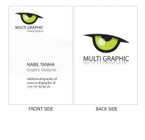 Multigraphic Business Card by nabJaan