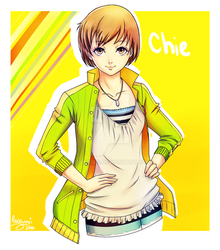 [Persona 4] Chie by IsaCrisis