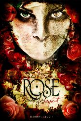 ROSE FILM POSTER by studiomuku