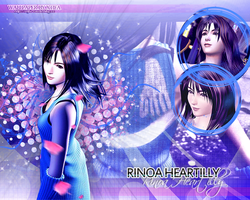 Rinoa Heartilly wallpaper by ladylucienne