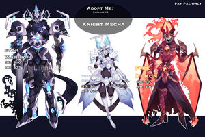 Adopt Me Package #8: Knight Mecha (CLOSED) by LillinApocalypse
